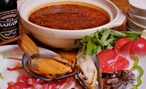 ベトナム風海鮮鍋