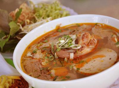 フエ風牛汁麺